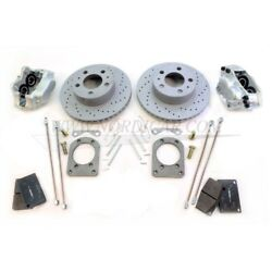 Volvo Vent1800fr Conversion Kit Brake Disc Front Axle Ventilated
