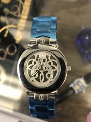 Charriol Columbus Stainless Steel Mop Dial Watch Ccra38m Works 100