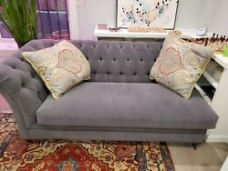 Gorgeous Tufted Chaise By Hickory Chair 705-54 Marquette - Hartwood Collection