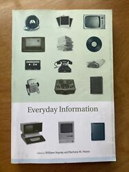 Everyday Information: The Evolution of Information Seeking in America The MIT P