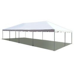 20and039 X 40and039 Pvc Weekender West Coast Frame Tent - White - Party Event Backyard