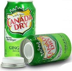 Ginger Ale Can Diversion Safe Home Security Product Discreetly Store Valuables
