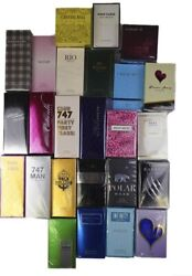 Andldquolot Of 20 Pcs Of Perfumes With Many Different Scents For Women And Menandrdquo