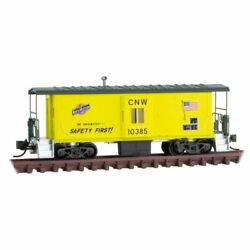 Micro-trains Line 13000280 - 31and039 Bay Window Caboose Chicago And Northwestern ...