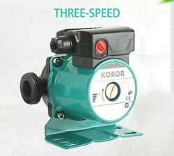 Heating Hot Water Circulation Pump 100w Household Booster Boiler Air Conditioner