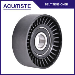 Serpentine Belt Tensioner Smooth Pulley For Audi Bmw Vw Jeep Kia Suzuki Dodge