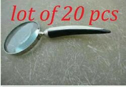 Collectible Magnifying Glass With Horn Handle Magnifier