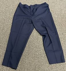 Bend Over Women's Navy Blue Pull On Pants Stretch Waist Band Plus Size 32W NWT $22.99