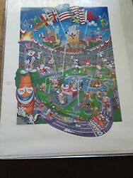 Signed, Numbered Melanie Taylor Kent Looney Tunes Olympic Games 1996