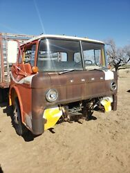 1968 Ford Cabover Coe Coca Cola Truck Cab And Chassis 69 70 71 72 73 Rat Rod Tow T