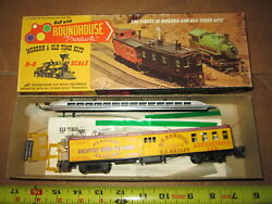 Ho Scale Roundhouse 5036 50' Pullman Combo. Barnum And Bailey Kit In Box.