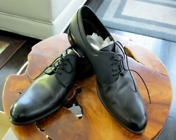Authentic Louis Vuitton Wall Street Berby Mens Black 955 Dress Shoes Brand New
