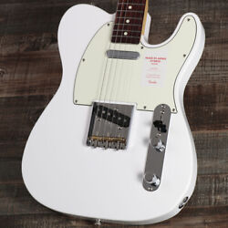 Fender Hybrid 60s Telecaster Arctic White Electric Guitar Made In Japan 21 Frets