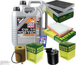 Inspection Kit Filter Liqui Moly Oil 10l 5w-30 For S-class W221