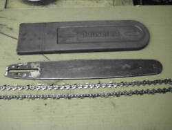 Jonsered 2051 Chainsaw 16 Bar, Chain And Bar Cover As Pictured