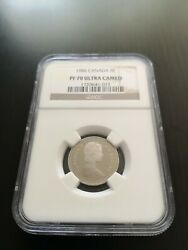 1986 Canada 5 Cents Pf 70 Ngc Finest Graded
