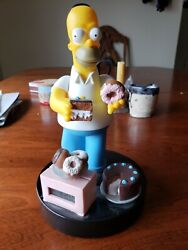 The Simpsons - Wesco Donut And Cake Alarm Clock - Working - 1998