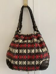 Tapestry Shoulder / Hand Bag Purse By Tocca Of Italy Anthropologie
