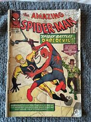 Amazing Spider-man 16, Gd 2.0, 1st Meeting With Daredevil