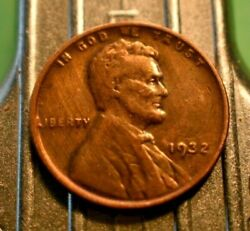 Higher Grade 1932-p Lincoln Wheat Cent 1c.  6173