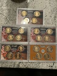 2007-2011 Presidential Proof Dollar Collection 20 Coins Proof In Us Mint Lens