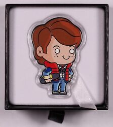 2020 Back To The Future 1oz Silver Coin - Marty Mcfly - Low Serial Number - 010