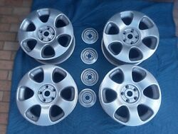 Bentley Arnage Alloy 18 18 Inch Wheels Set Of 4 Rims 8x18 Pd56206pa 1999-07