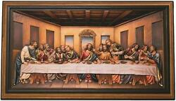 Last Supper Woodcarved Woodcarving Jesus Christ