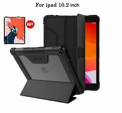 Tablet Wake Stand Case Pu Leather Shockproof Pencil Holder Cover For Apple Ipad
