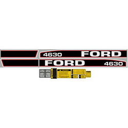 New 4630 Ford Tractor Complete Decal Kit 4630 High Quality Long Lasting Decals