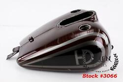 1996 Harley Road King Touring Brown Fuel Gas Tank Efi One Dent - Liner Bubbling