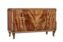 Mid 20th Century Mahogany Chest Of Drawers By Bodafors