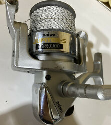 Daiwa 5500 Jupiter -s5500 Large Fishing Reel/ Spinner/untested For Parts