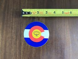"""Osprey Backpacks Red Blue Yellow Sticker Decal Outdoor Hiking Backpack Approx 3"""" $4.00"""
