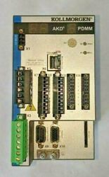 Tested Kollmogen Akd Pdmm Motion Controller And Drive Ethercat Akd-m0036-mcec-0000