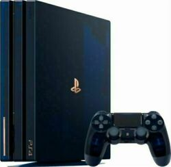 Playstation 4 Pro 2tb 500 Million Limited Edition Console + Headset And Controll