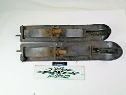 Vintage Kitty Cat Snowmobile skis fits all years 1972 1999 Arctic Cat kitty cat