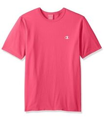 Champion Life Men's Heritage Tee, Amaranth Pigment Dyed, Size Small