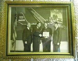 Vintage 1940s Photo Edison Employs Superfortress Campaign With B29 Bomber 7 War