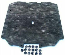 1984-92 Lincoln Continental Mark Vii Hood Insulation Pad With 15-mounting Clips