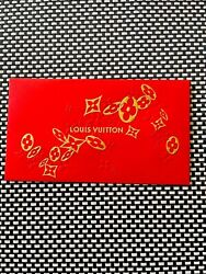 Louis Vuitton Lv Lunar Chinese New Year Red Envelopes 2020 Year Of Ox New Sealed