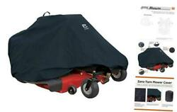 73997 Zero Turn Riding Lawn Mower Tractor Cover Up To 50 Decks Black Protect