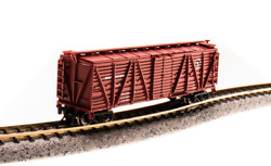 Broadway Limited N Scale 3575 Gn Stock Car With Sheep Sounds New In Box
