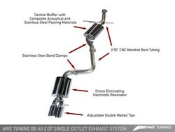 Awe Tuning Touring Edition Single Outlet Exhaust Fits 2009-2017 Audi A5