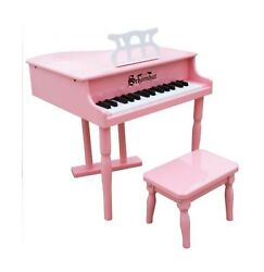 Schoenhut Learn-to-play Baby Grand Toy Piano With 30-keys And Patented Play-b...