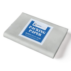 Bryco Packing Paper Sheets Supplies, 27 X 17 5 Pounds 160 Sheets