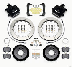 Wilwood Combination Parking Brake Rear Kit 12.88in 2013-up For Ford Focus St W/