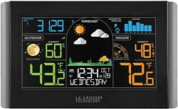 La Crosse Technology Wireless Weather Station with Atomic Time amp; Date