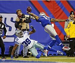 Odell Beckham Jr. New York Giants Unsigned One Handed Catch 20 X 24 Photo