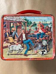 Vintage Beverly Hillbillies Lunchbox And Thermos